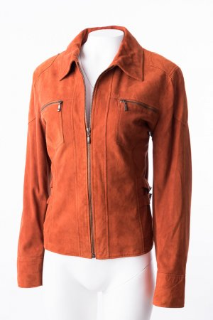 Biba Leather Jacket russet leather
