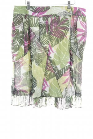 Biba Flounce Skirt floral pattern casual look