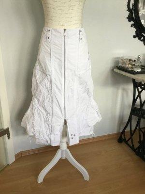 BiBa Weißer Sommerrock mit vielen besonderen Details