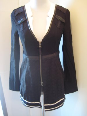 Biba Vest zwart-antraciet