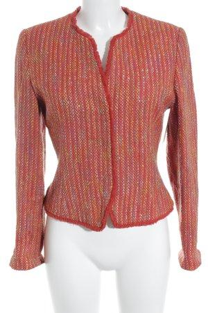 Biba Wollen blazer gestreept patroon zakelijke stijl