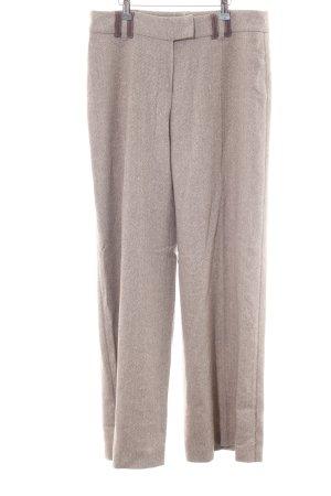Biba Woolen Trousers brown flecked elegant