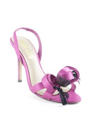Bibi Lou High Heel Sandal pink elegant