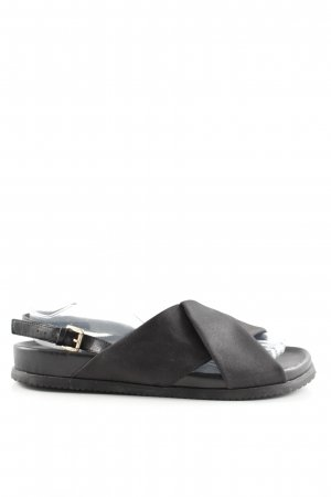 Bibi Lou Comfort Sandals black casual look