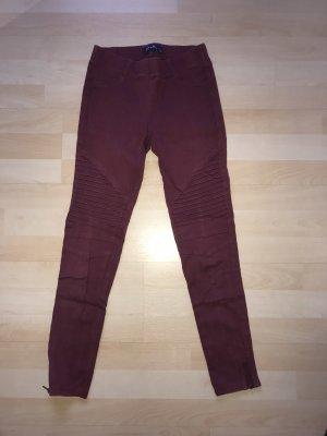 3/4-jeans bordeaux