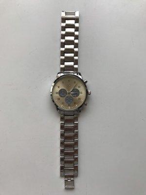 Bicolor Uhr Silber/Gold