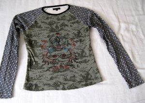 Biete süßes Print-Longsleeve Shirt von Vero Moda