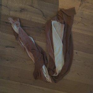 Big Schal von Zara in Brauntönen