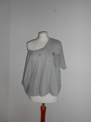 Big shirt kurztop grau gr s oversize Vero Moda