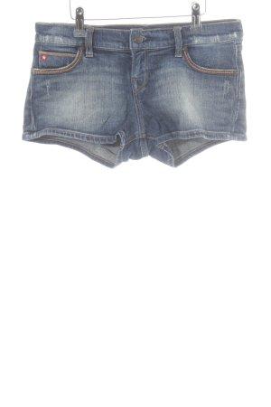 Big Star Shorts blau-dunkelblau Casual-Look
