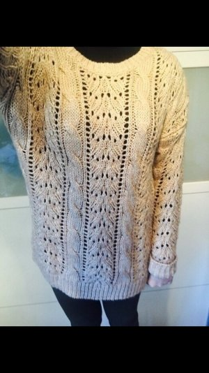 Big star Strick Pullover beige S