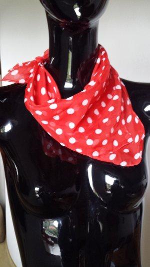 Bijou Brigitte Halsdoek rood-wit Polyester