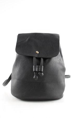 Bijou Brigitte Mini sac à dos noir style décontracté