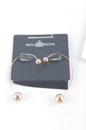Bijou Brigitte Bungeloorbellen roségoud casual uitstraling