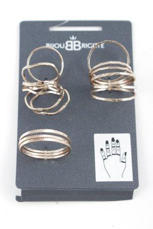 Bijou Brigitte Partner Ring rose-gold-coloured casual look