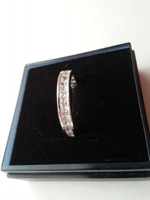 Bijou Brigitte Ring Gr.17 Echtsilber 925