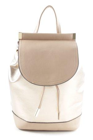 Bijou Brigitte School Backpack natural white-cream elegant