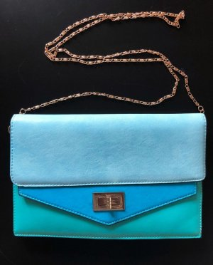 BIJOU BRIGITTE Tasche Blau Türkis, wie neu