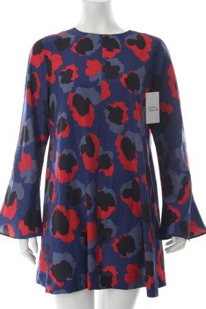 Bik Bok A-Linien Kleid florales Muster