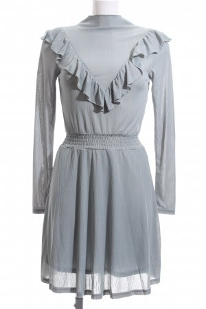 Bik Bok A-Linien Kleid graugrün Elegant