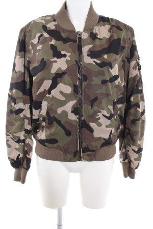Bik Bok Bomberjacke Camouflagemuster Casual-Look