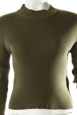 Bik Bok Cropped sweater with turtleneck