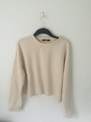 Bik Bok cropped Sweatshirt Creme Beige