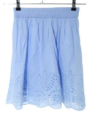 Bik Bok Gonna a campana blu modello misto stile casual