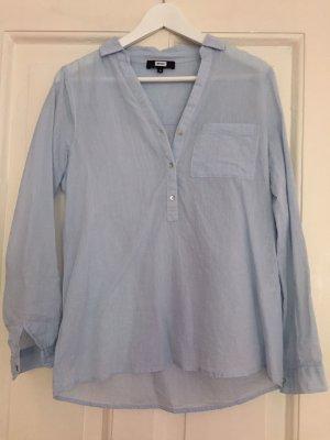 Bik Bok Hemd Bluse Baumwolle hellblau S