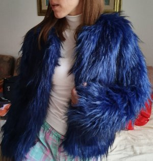 Bik Bok Pelt Jacket blue polyester