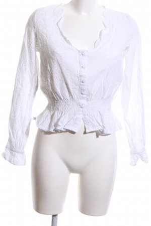 Bik Bok Long Sleeve Blouse white business style