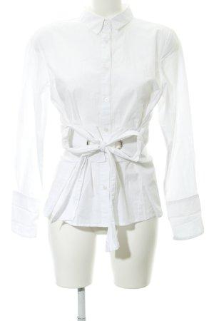 Bik Bok Langarm-Bluse weiß Elegant