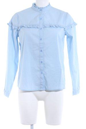 Bik Bok Long Sleeve Shirt azure classic style