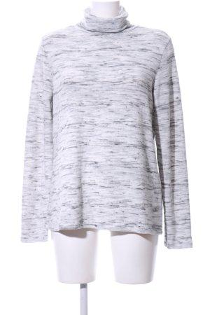 Bik Bok Turtleneck Sweater white-black flecked casual look
