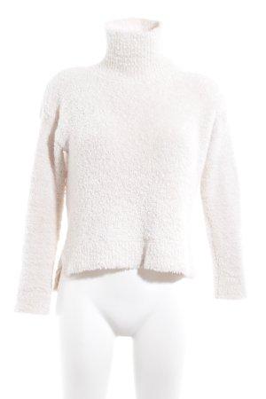 Bik Bok Maglione dolcevita bianco sporco stile casual