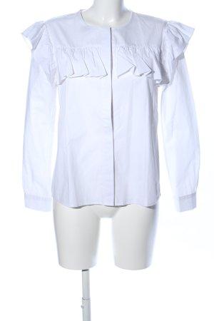 Bik Bok Ruffled Blouse white casual look