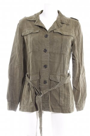Bik Bok Safari Jacket khaki casual look