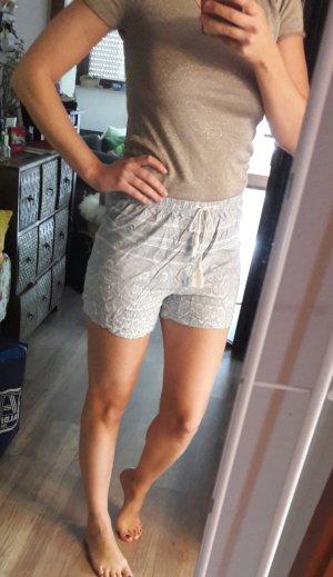 Bik Bok Shorts Highwaist Pastell Paisley Hippie Boho Festival Sommer 36 Hotpants