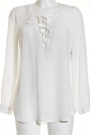 Bik Bok Transparent Blouse natural white casual look