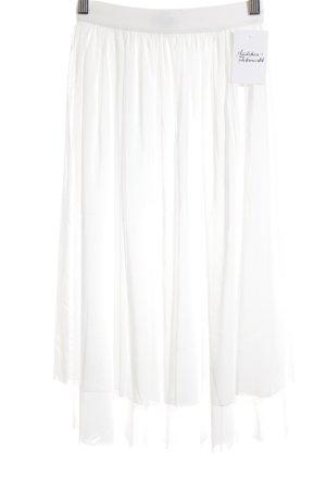 Bik Bok Falda de tul blanco puro estilo romántico