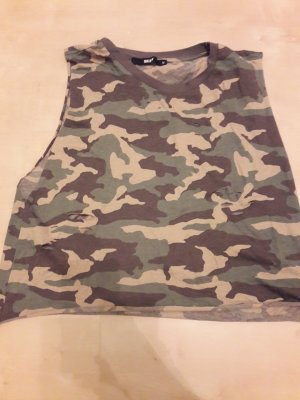 BikBok Cropped Top army