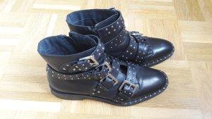 """Biker Boots """"Amy"""" mit Nieten aus Leder"""