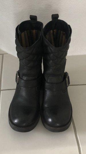 Felmini Botas de tobillo negro Cuero