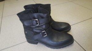Biker Boots in schwarz grösse 39