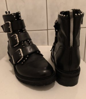 Spm Low boot noir cuir
