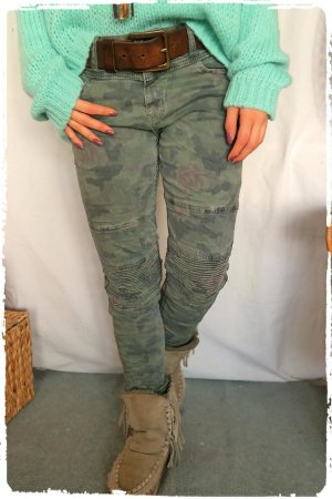 Biker Carmoflage Jeans passt M bis L