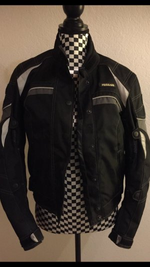 Veste motard noir