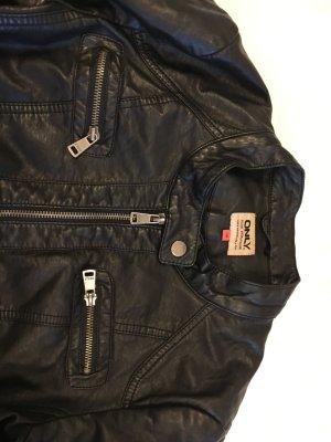 Biker Jacke im Leder Look von Vero Moda