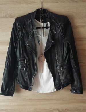 Biker Jacke Jeans Leder
