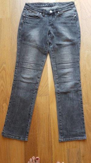 AJC Jeans da motociclista grigio scuro